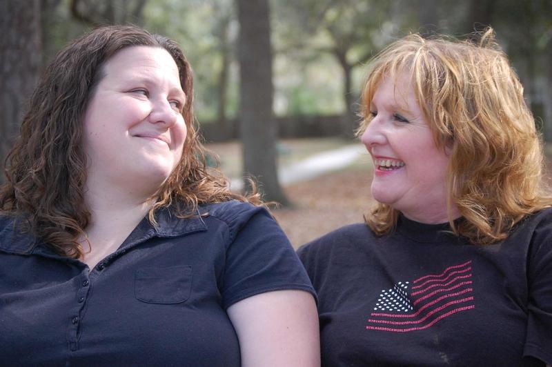 Foto von zwei Freundinnen