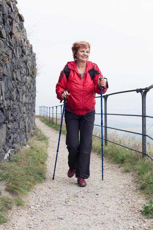 Foto von Frau beim Walking