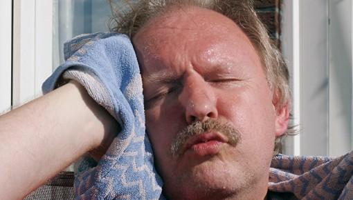 Mann pilzerkrankung beim Pilzinfektion beim