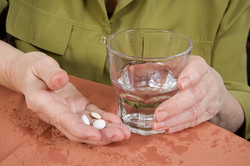 Foto von Medikamenten-Einnahme